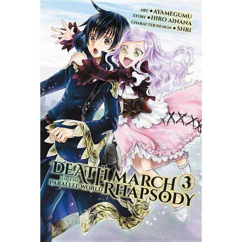 Death March to the Parallel World Rhapsody, Volume 3 - by  Hiro Ainana (Paperback) - image 1 of 1