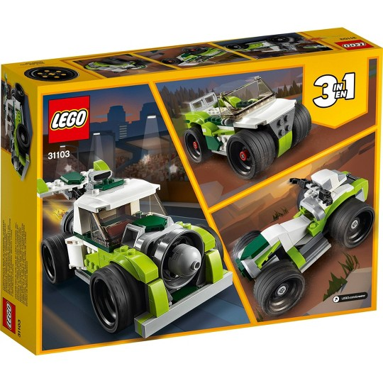 LEGO Creator 3-in-1 Rocket Truck Building Kit 31103 image number null