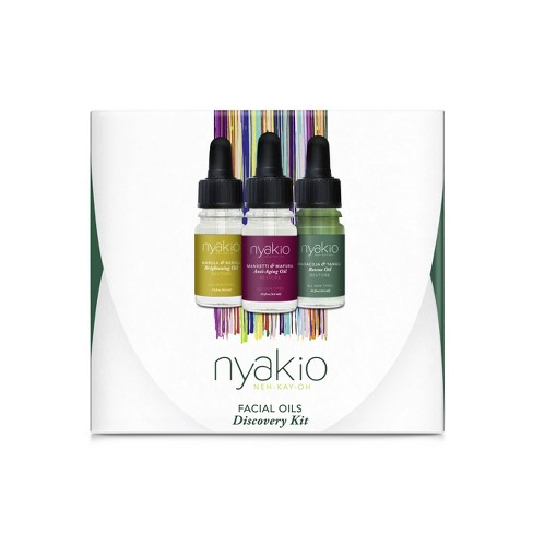 nyakio Cold Pressed Oils Discovery Kit - 0.45 fl oz - image 1 of 4