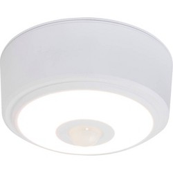 Energizer 140 Lumens Indoor LED Ceiling Fixture Motion Sensing White