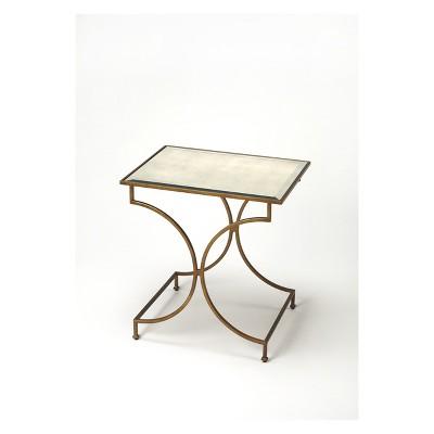 Bon Butler Specialty Esperanza End Table Antique Gold