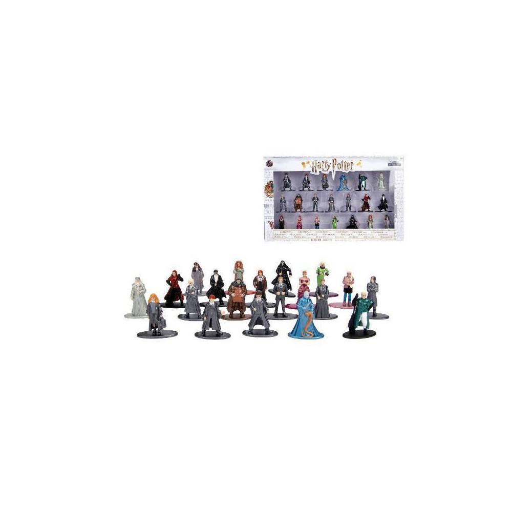 "Image of ""Jada Toys Nano Metalfigs Harry Potter Die-Cast Figures 1.65"""" 20-Pack"""