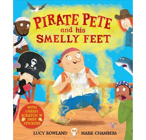 Pirate Pete and His Smelly Feet (Paperback) (Lucy Rowland) - image 1 of 1