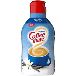 Coffee Mate French Vanilla Coffee Creamer - 0.5gal
