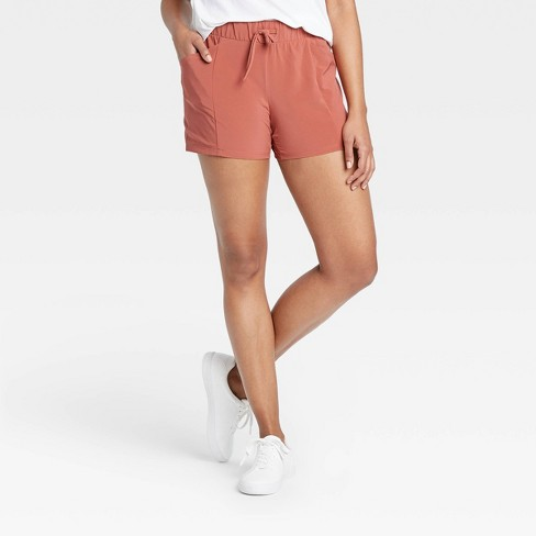 "Women's Move Stretch Woven Shorts 4"" - All in Motion™ - image 1 of 4"