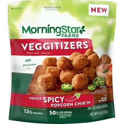 Morningstar Farms Frozen Spicy Popcorn Chik'n - 8oz