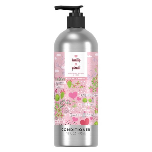 Love Beauty and Planet Murumuru Butter & Rose Conditioner in Reusable Pump Bottle - 16 fl oz - image 1 of 4