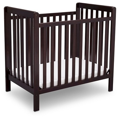 Delta Children® Mini Crib Classic - Dark Chocolate