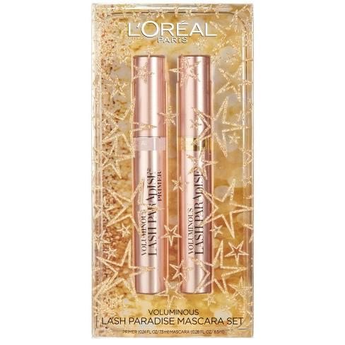 c6f9ad59834 L'Oreal Paris Voluminous Lash Paradise Mascara Kit Black - 0.28 Fl ...
