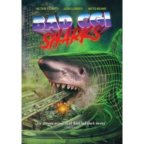 Bad CGI Sharks (DVD) - image 1 of 1
