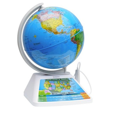 Oregon Scientific SG268R SmartGlobe Adventure Augmented Reality Educational Globe