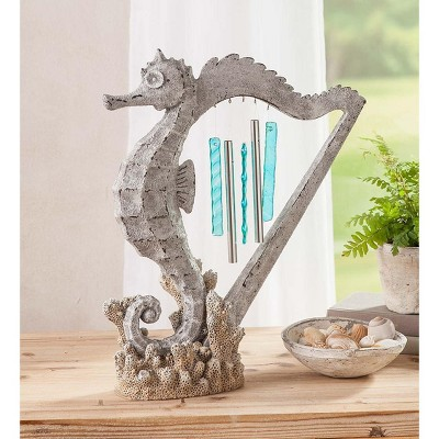 Wind & Weather Seahorse Harp Wind Chime