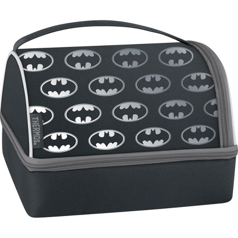 Thermos Batman Lunch Box Set With Pack In Black