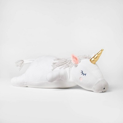 Weighted Plush Unicorn Throw Pillow - Pillowfort™