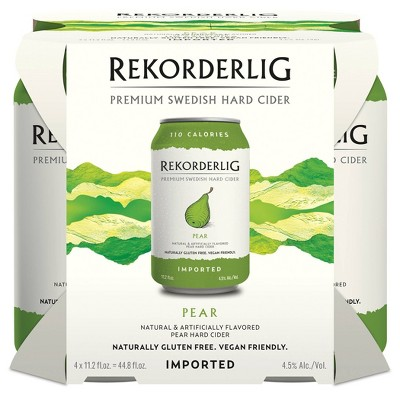 Rekorderlig Pear Hard Cider - 4pk/11.2 fl oz Cans