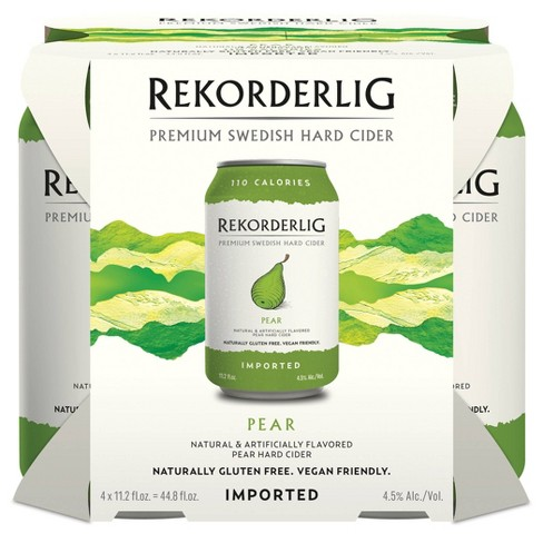 Rekorderlig Pear Hard Cider - 4pk/11.2 fl oz Cans - image 1 of 1