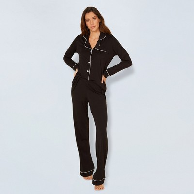 Cosabella Women's Bella Long Sleeve Top & Pant Set
