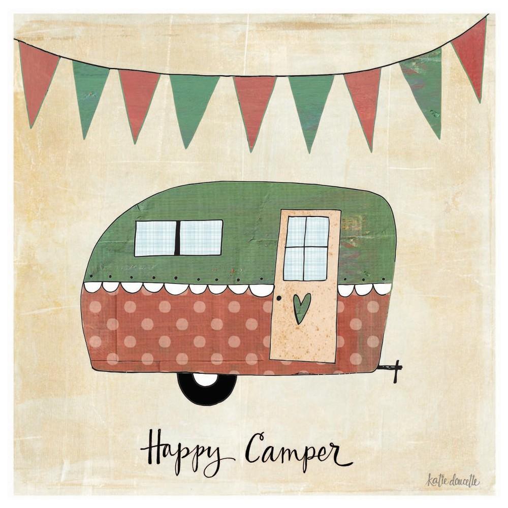 Image of Thirstystone Happy Camper Coaster Set of 4