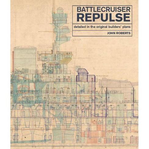 Battlecruiser Repulse - by  John Roberts (Hardcover) - image 1 of 1