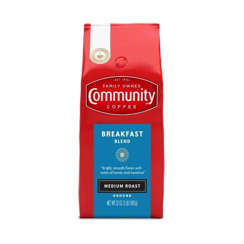 Community Coffee Breakfast Blend Medium Roast Ground Coffee - 32oz - image 1 of 4