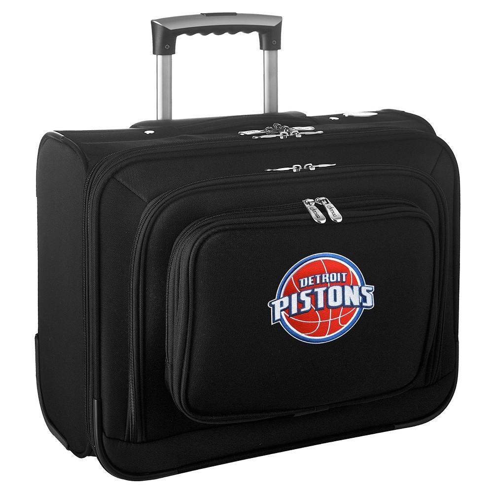 NBA Detroit Pistons Mojo Wheeled Laptop Suitcase