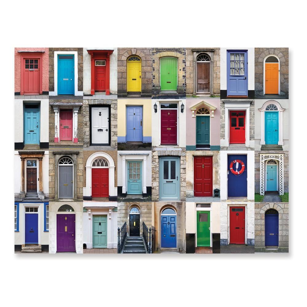Melissa & Doug 1,000pc Knock Knock Doorways Jigsaw Puzzle (29 x 23 inches) 1000pc