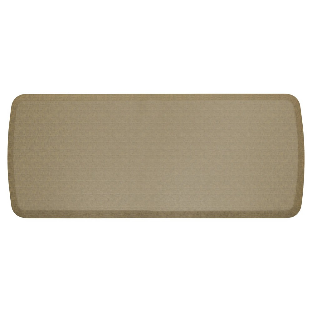 """Image of """"Gelpro Elite Linen Comfort Kitchen Mat - Sandalwood (20""""""""X48""""""""), Size: 1'8""""""""X4'"""""""