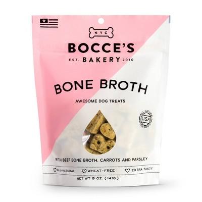 Bocce's Bakery Bone Broth Dog Treats - 5oz