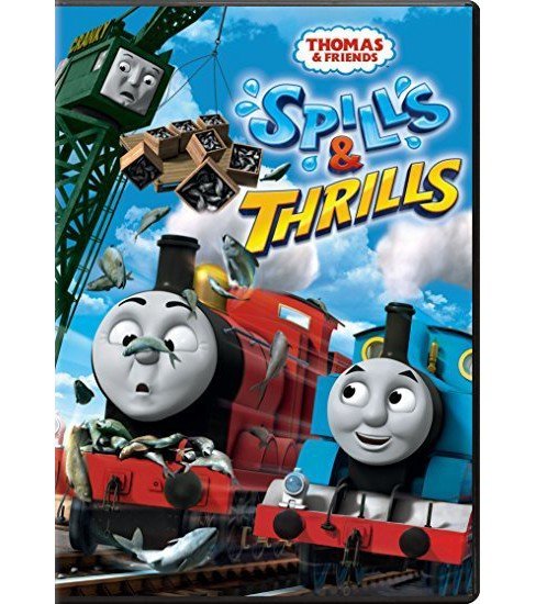 Thomas & Friends: Spills & Thrills (dvd_video) - image 1 of 1