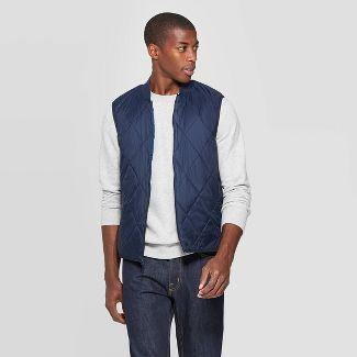 Men's Sleeveless Lightweight Vest - Goodfellow & Co™ Navy L