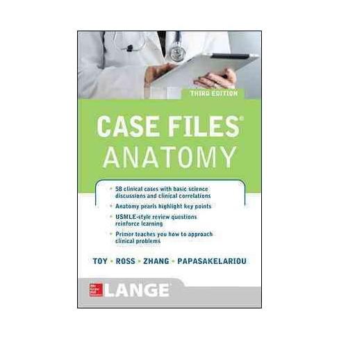 Case Files Anatomy (Paperback) : Target