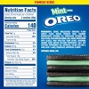 Oreo Mint Creme Chocolate Sandwich Cookies Family Size - 20oz - image 2 of 4