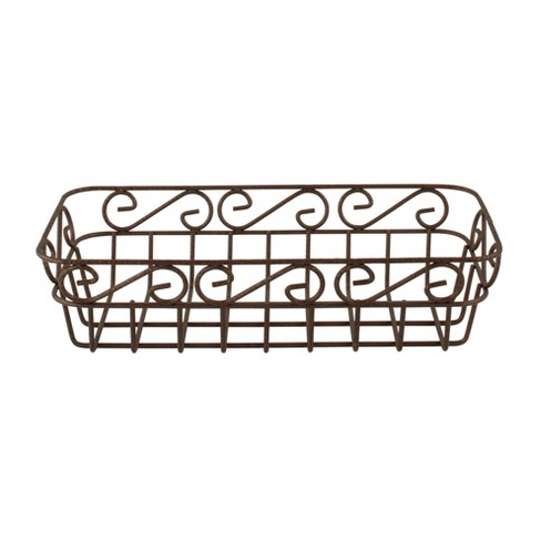 Scroll Bread Basket - Hammered Bronze - image 1 of 4