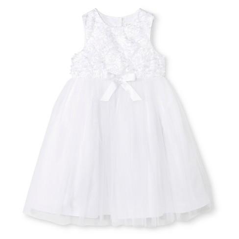 09eea8672c3 Toddler Girls  Ballerina Flower Girl Dress - Tevolio™ White 5T   Target