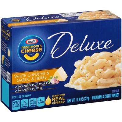 Kraft Deluxe White Cheddar & Herbs 11.9oz