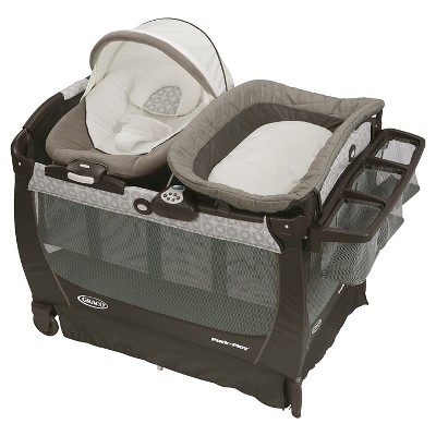 Graco® Pack 'n Play Playard Snuggle Suite LX Bassinet Changer - Abbington