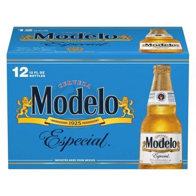 Modelo Especial Lager Beer - 12pk/12 fl oz Bottles
