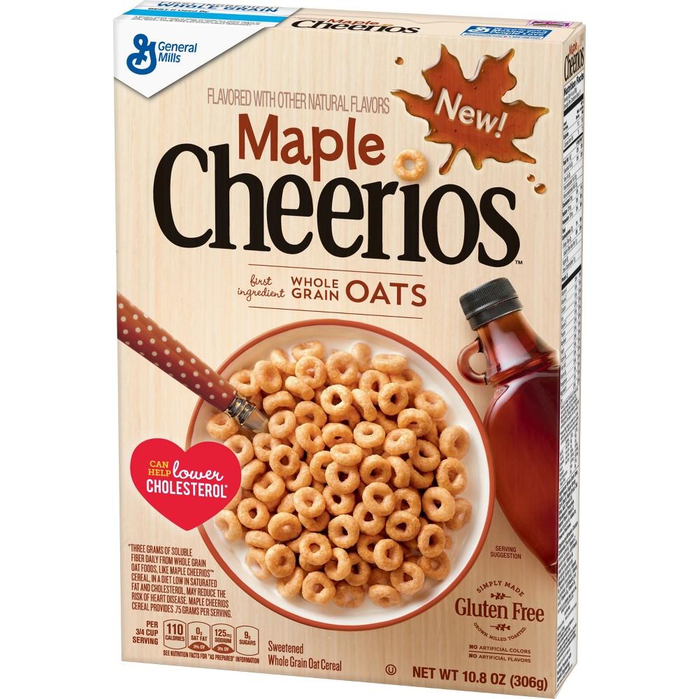 Maple Cheerios Breakfast Cereal - 10.8oz - General Mills