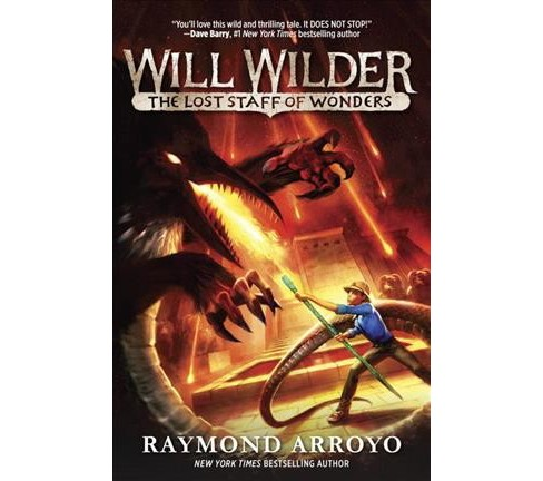Lost Staff of Wonders -  Reprint (Will Wilder) by Raymond Arroyo (Paperback) - image 1 of 1