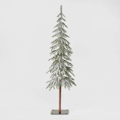 5ft Unlit Downswept Flocked Alpine Balsam Artificial Christmas Tree - Wondershop™ - image 1 of 2