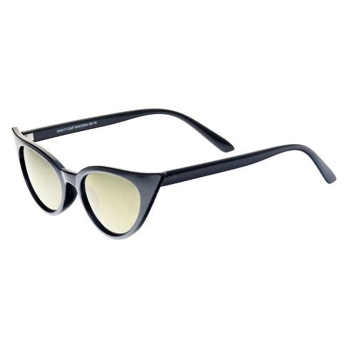 2f0b9946075 Cateye Glitter Sunglasses - Wild Fable™ Gold Shimmer   Target