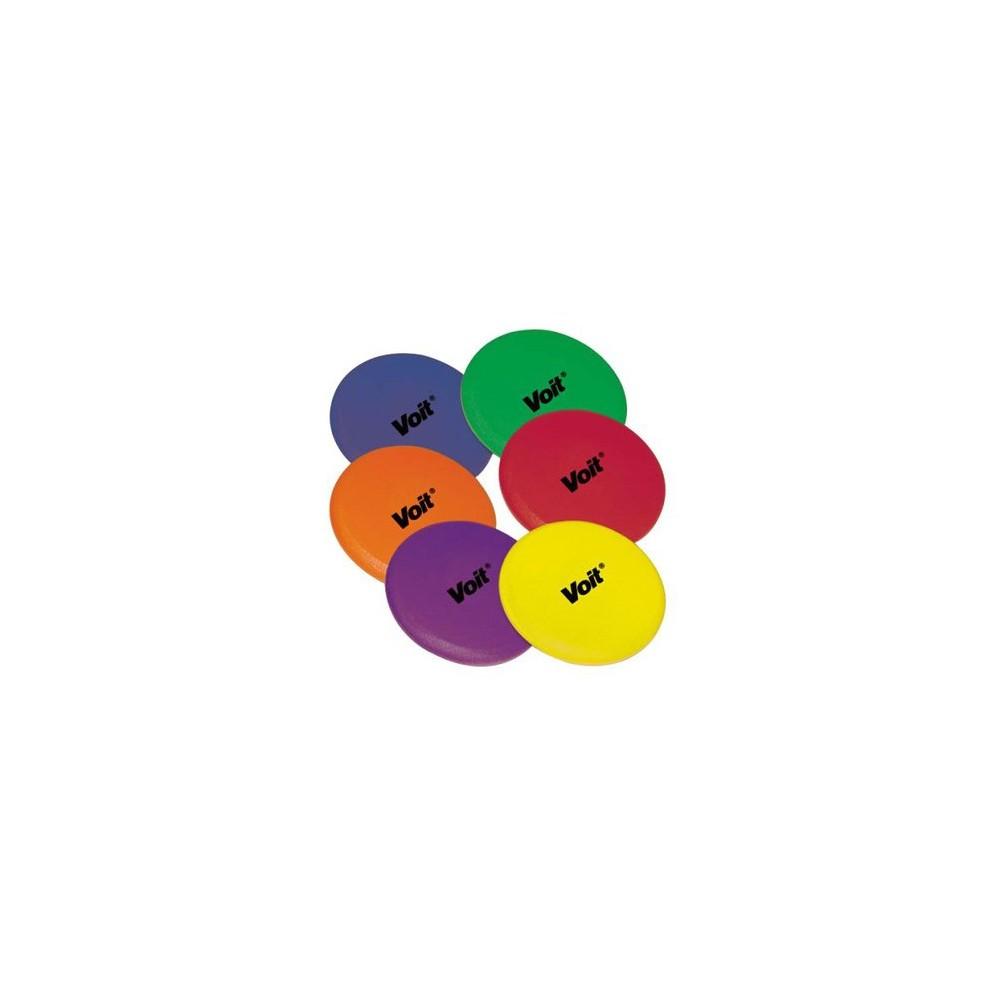 Tuff Coat Foam Flying Disk 6pk, Multi-Colored