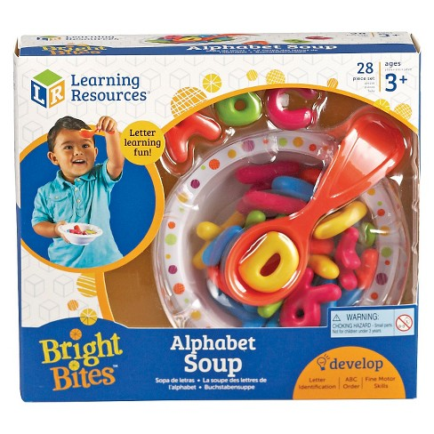 Learning Resources Alphabet Soup Sorters - image 1 of 3