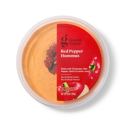 Red Pepper Hummus - 10oz - Good & Gather™