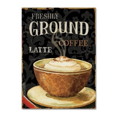 "24"" x 32"" Today's Coffee II by Lisa Audit - Trademark Fine Art"