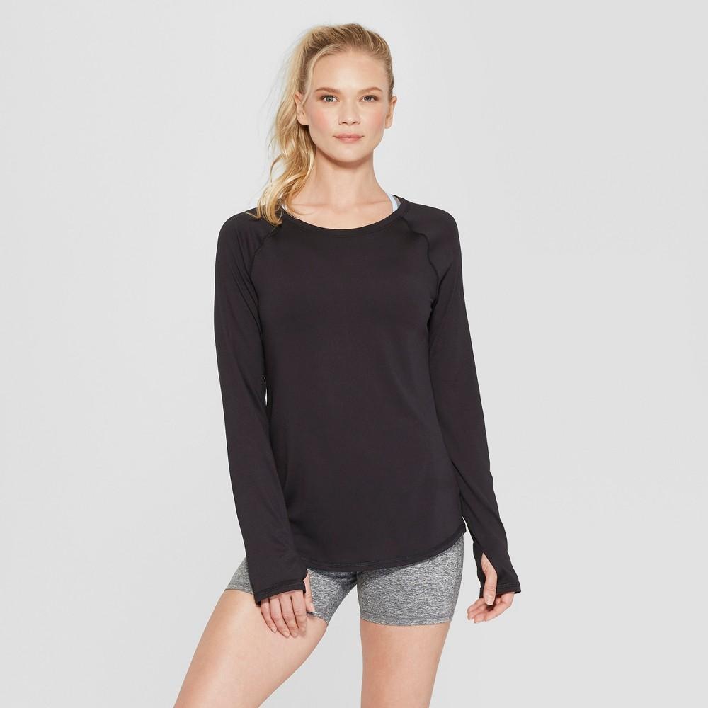 Women's Long Sleeve T-Shirt - C9 Champion Black M