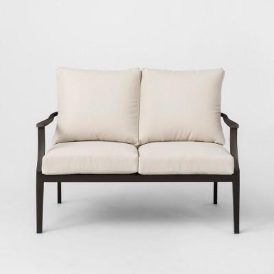 Fairmont Patio Loveseat Linen - Threshold™