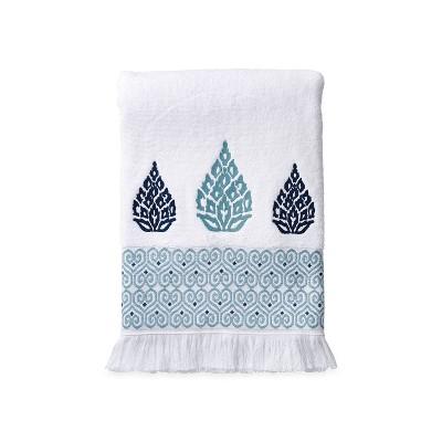 Capri Medallion Bath Towel Blue - Destinations
