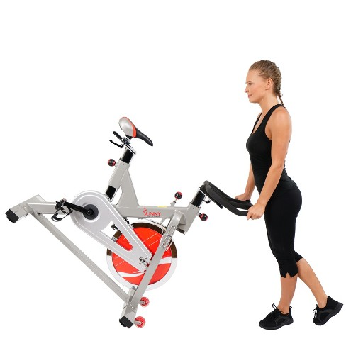 e03dd7da3be Sunny Health And Fitness (SF-B1110S) Indoor Cycling Bike - Silver   Target