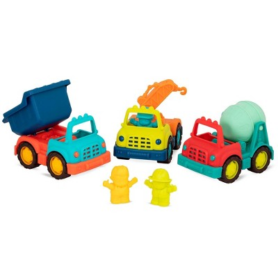 B. toys - Construction Truck Set - Happy Cruisers